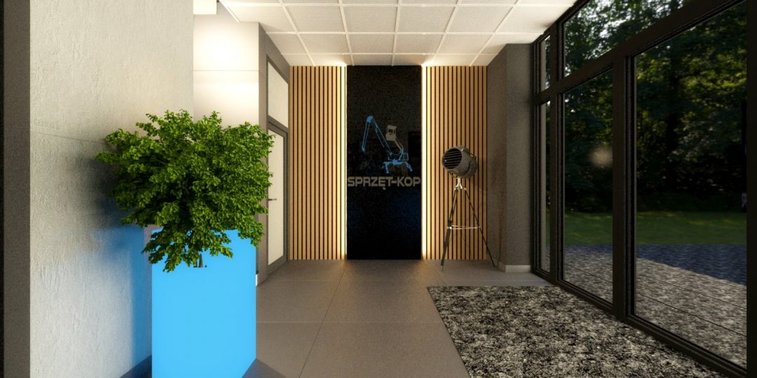 Wnętrze biurowca